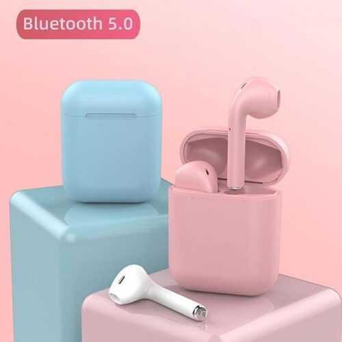 Bluetooth безжични слушалки HF inPods 12 TWS в различни цветове 10