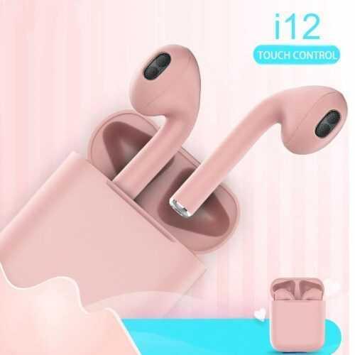 Bluetooth безжични слушалки HF inPods 12 TWS в различни цветове 8