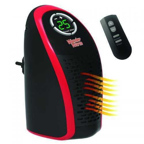 Луксозна Мобилна Икономична Печка WONDER WARM 400W С Дистанционно Управление, Отоплител 3