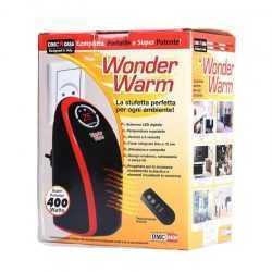 Луксозна Мобилна Икономична Печка WONDER WARM 400W С Дистанционно Управление, Отоплител 7