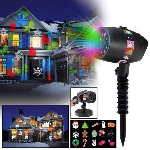 Прожектор с 12 слайда за светлинно шоу SLIDE SHOW 3