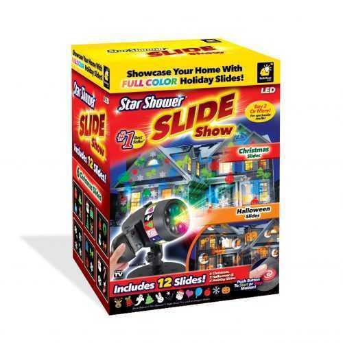 Прожектор с 12 слайда за светлинно шоу SLIDE SHOW 5