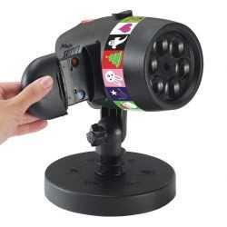 Прожектор с 12 слайда за светлинно шоу SLIDE SHOW 6