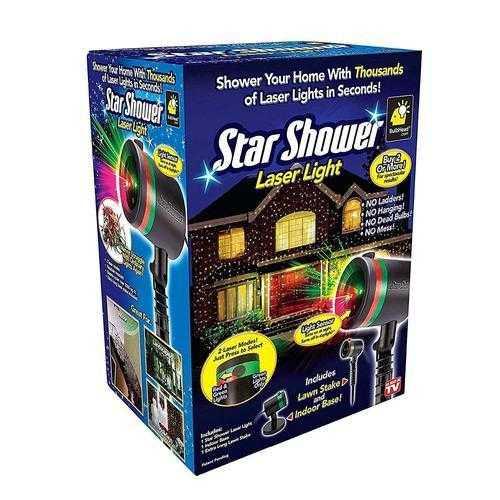 Светлинно Шоу Със прожектор Star Shower Laser Light 5