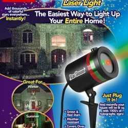 Светлинно Шоу Със прожектор Star Shower Laser Light 6