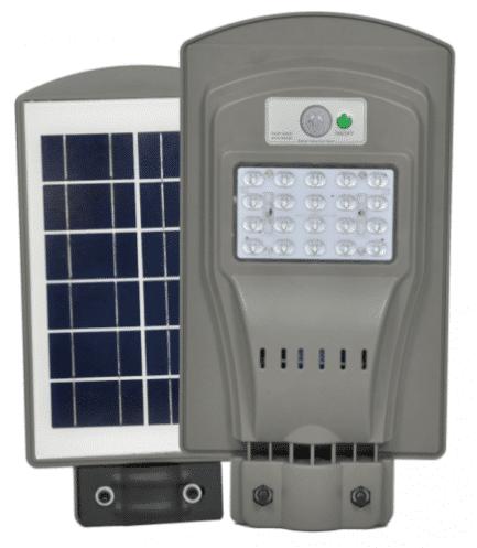 2 броя Външна Соларна LED лампа с датчик за движение и дистанционно 30W 4