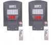 2 броя Външна Соларна LED лампа с датчик за движение и дистанционно 30W 2
