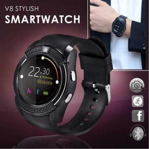 Смарт часовник V8 с bluetooth, камера и SIM карта 5