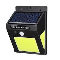10 броя 60 LED градинска соларна лампа с датчик за движение 6