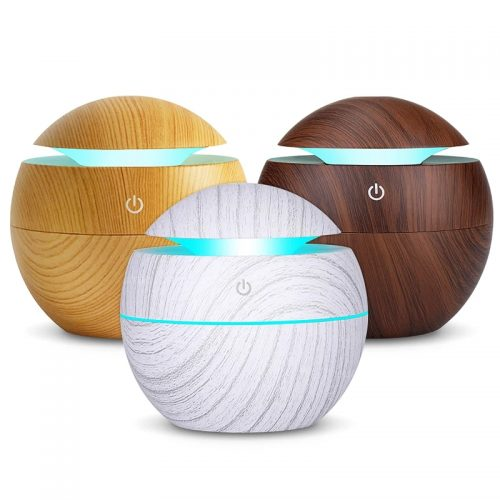 Ултразвуков арома дифузер с етерични масла в 3 цвята 3