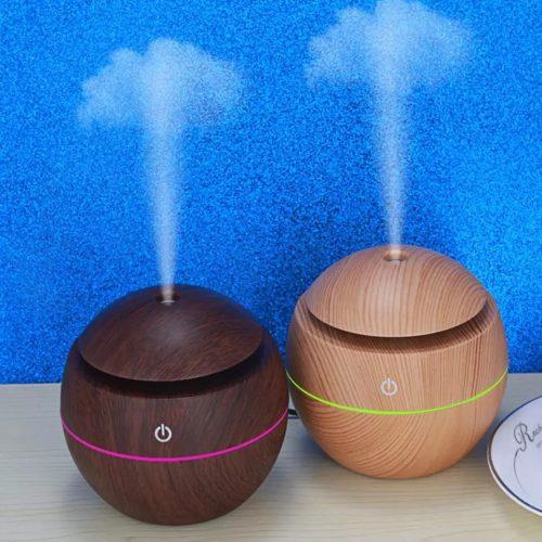Ултразвуков арома дифузер с етерични масла в 3 цвята 6
