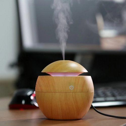 Ултразвуков арома дифузер с етерични масла в 3 цвята 4