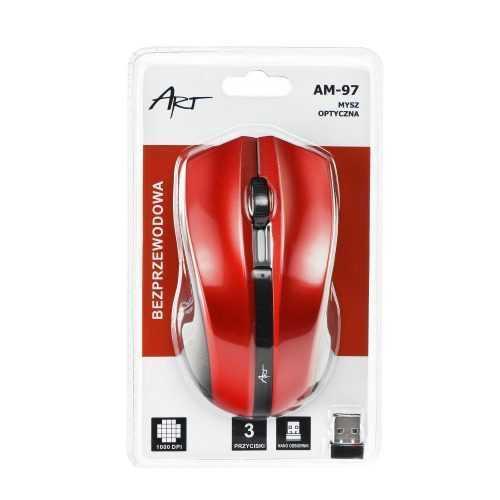 Art оптична wireless мишка usb am-97 8
