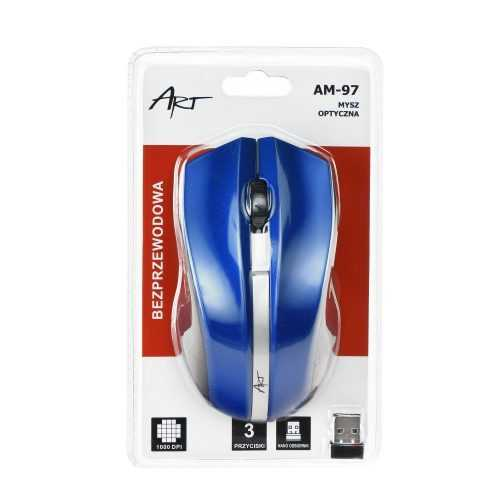 Art оптична wireless мишка usb am-97 7