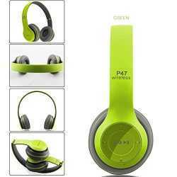 БЕЗЖИЧНИ СЛУШАЛКИ P47 WIRELESS, BLUETOOTH, FM, MP3, SD MEMORY 9