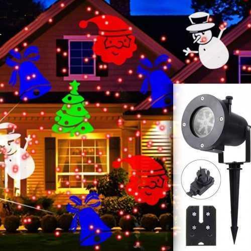 LED прожектор за фасада с 12 броя приставки, в четири цвята 4