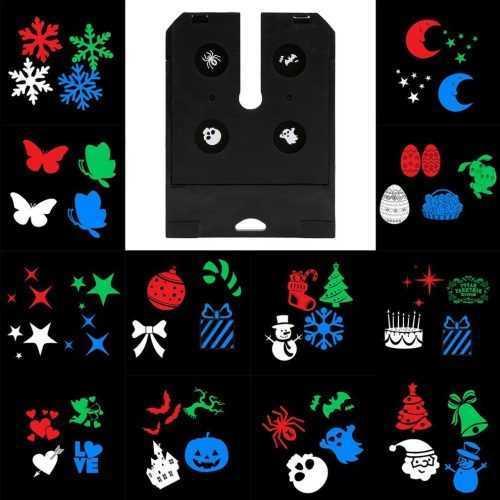 LED прожектор за фасада с 12 броя приставки, в четири цвята 6