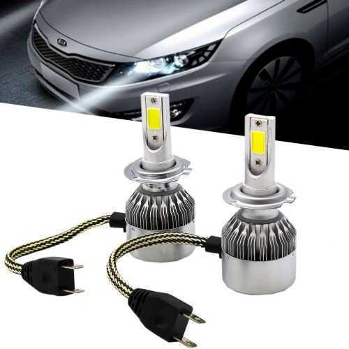 LED КРУШКИ C6 H1/H4/H7 3
