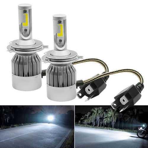LED КРУШКИ C6 H1/H4/H7 7