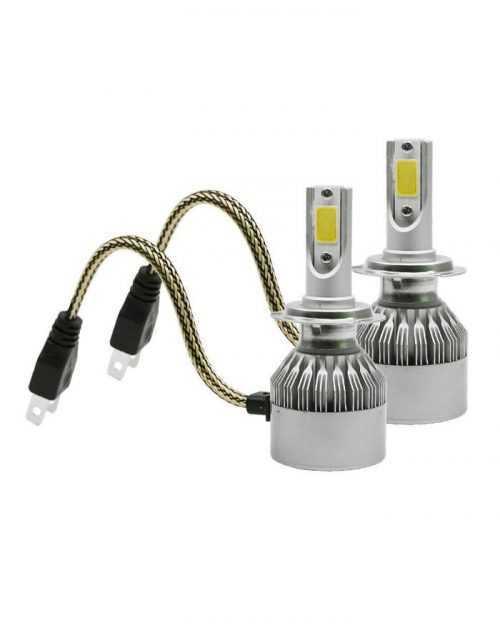 LED КРУШКИ C6 H1/H4/H7 6