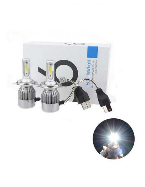 LED КРУШКИ C6 H1/H4/H7 5