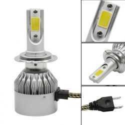LED КРУШКИ C6 H1/H4/H7 8