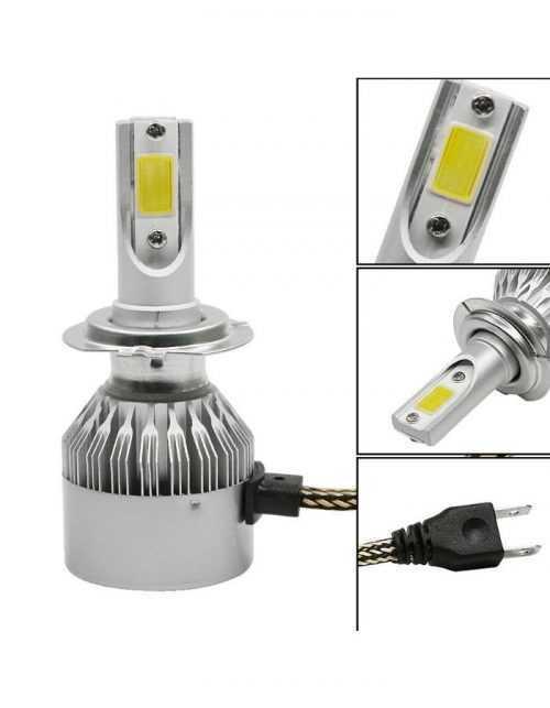 LED КРУШКИ C6 H1/H4/H7 4