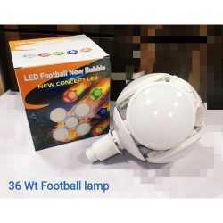 Сгъваема LED лампа с форма на футболна топка 40W 12