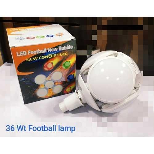 Сгъваема LED лампа с форма на футболна топка 40W 7