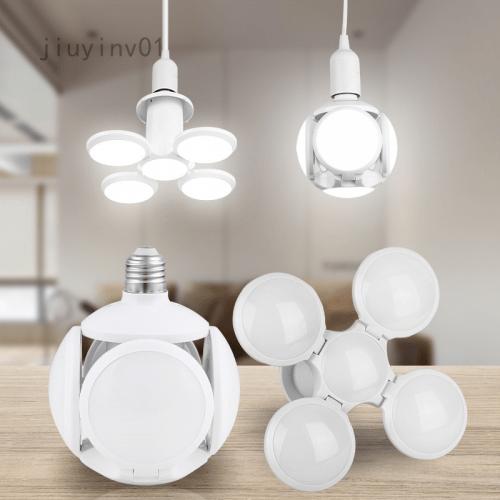 Сгъваема LED лампа с форма на футболна топка 40W 4