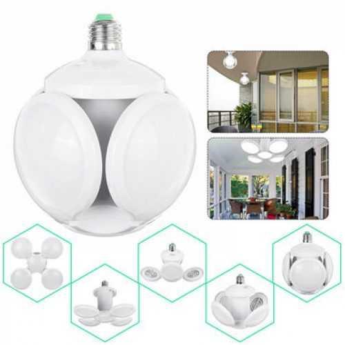 Сгъваема LED лампа с форма на футболна топка 40W 8