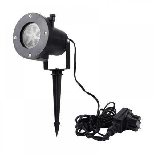 LED прожектор за фасада Снежинки в четири цвята 4