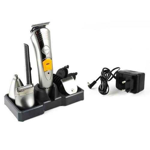 Безжична машинка за подстригване и оформяне Kemei 7 в 1 11