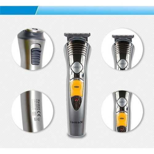 Безжична машинка за подстригване и оформяне Kemei 7 в 1 10