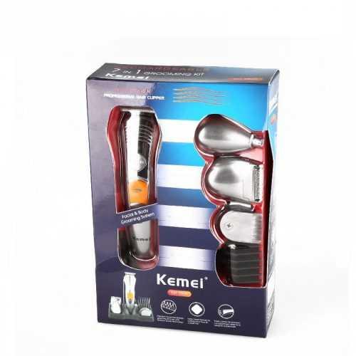 Безжична машинка за подстригване и оформяне Kemei 7 в 1 8