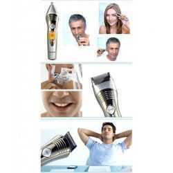 Безжична машинка за подстригване и оформяне Kemei 7 в 1 15