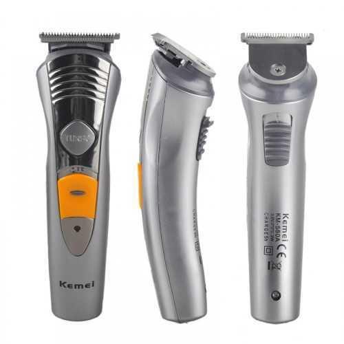 Безжична машинка за подстригване и оформяне Kemei 7 в 1 6