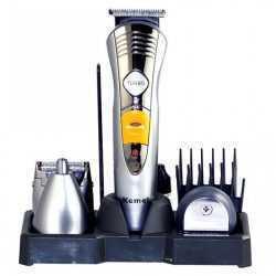 Безжична машинка за подстригване и оформяне Kemei 7 в 1 13