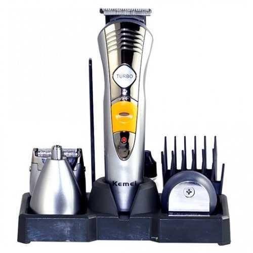 Безжична машинка за подстригване и оформяне Kemei 7 в 1 5