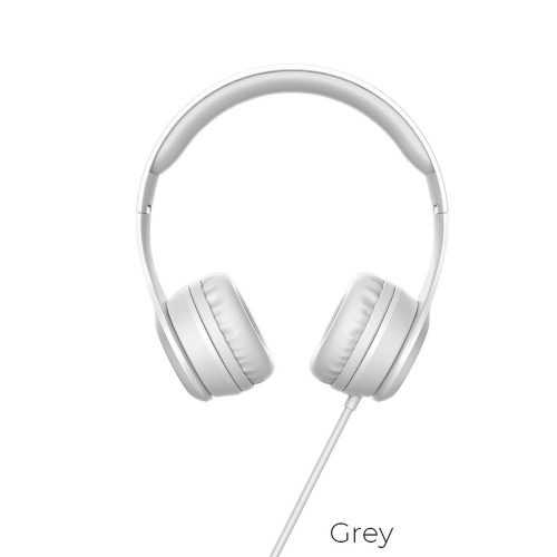 Слушалки Hoco W21 с кабел, Тип On-ear, Сгъваеми, Hi-Fi Стерео, Черни и Бели 9