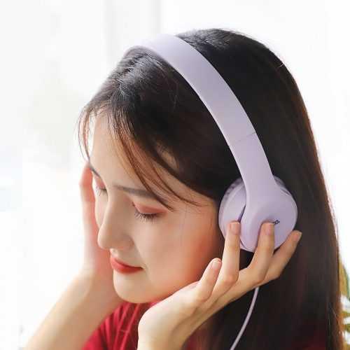 Слушалки Hoco W21 с кабел, Тип On-ear, Сгъваеми, Hi-Fi Стерео, Черни и Бели 7