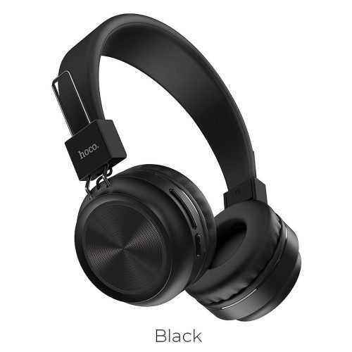 Безжични слушалки Hoco W25 с ANC технология, Тип Over-ear, Сгъваеми, Микрофон 3