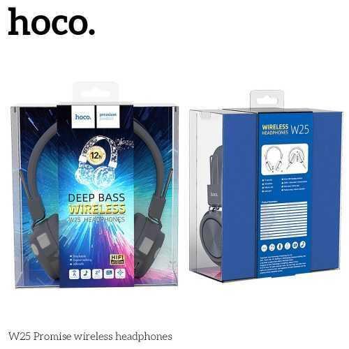 Безжични слушалки Hoco W25 с ANC технология, Тип Over-ear, Сгъваеми, Микрофон 6