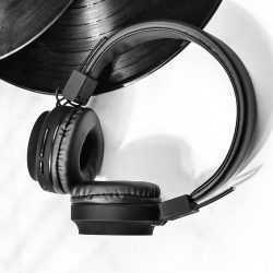 Безжични слушалки Hoco W25 с ANC технология, Тип Over-ear, Сгъваеми, Микрофон 20