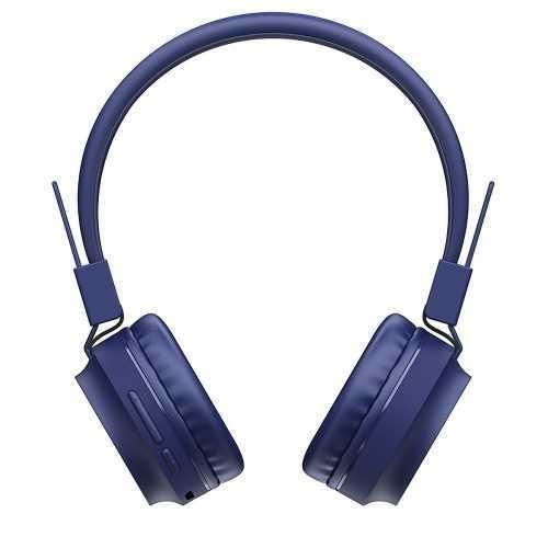 Безжични слушалки Hoco W25 с ANC технология, Тип Over-ear, Сгъваеми, Микрофон 12