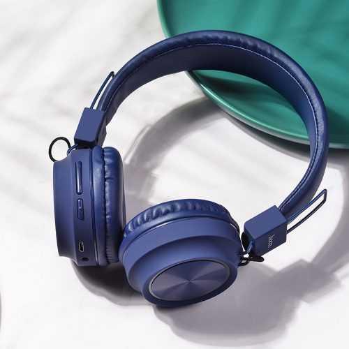 Безжични слушалки Hoco W25 с ANC технология, Тип Over-ear, Сгъваеми, Микрофон 11