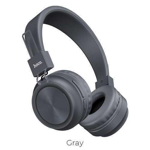 Безжични слушалки Hoco W25 с ANC технология, Тип Over-ear, Сгъваеми, Микрофон 5