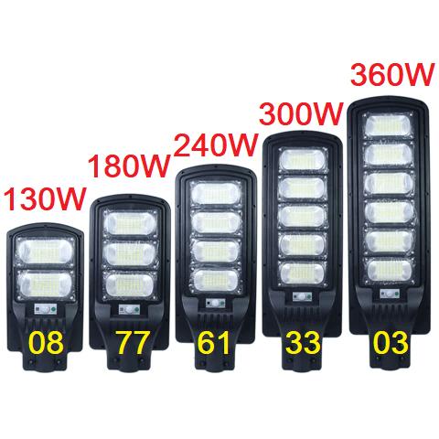Соларна улична лампа 130/180/240/300/360 вата 3