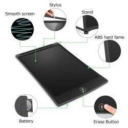таблет за рисуване и писане с екран 12 инча E-notepad / lock key 11