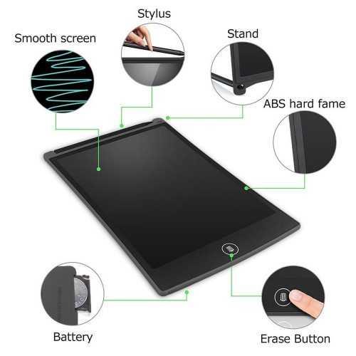 таблет за рисуване и писане с екран 12 инча E-notepad / lock key 5